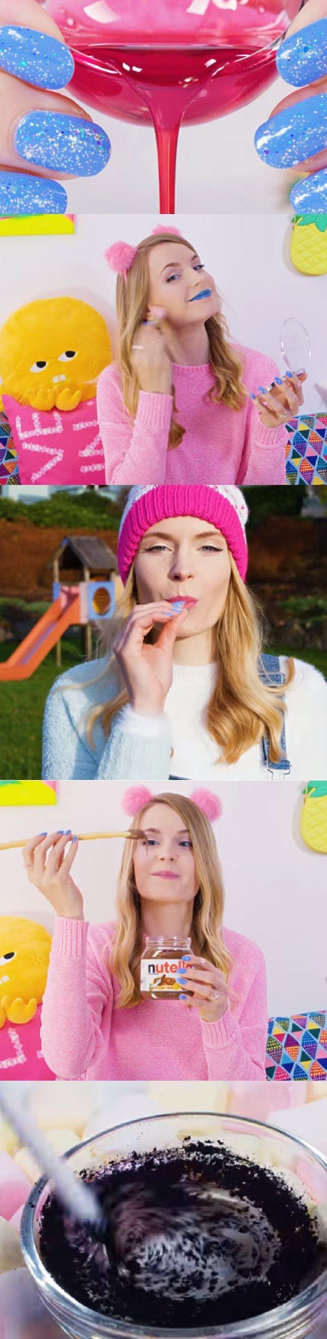 DIY Edible Makeup Pranks! DIY Makeup Tutorial with 10 Funny Pranks and Life Hack...