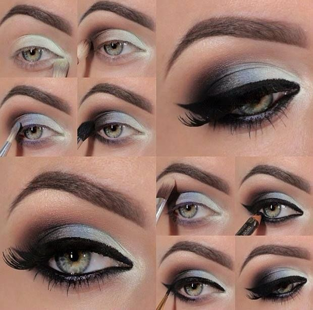 DIY Stunning Purple Smokey Eye Makeup Tutorials #beauty, #diy, #eye, #makeup, #s...
