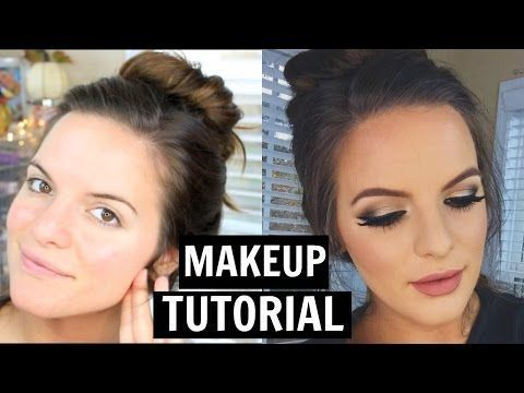 Easy Holiday Makeup Tutorial!   Casey Holmes - YouTube