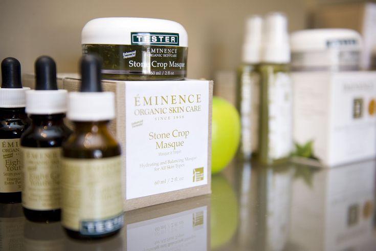 Eminence Organic Skin care Display