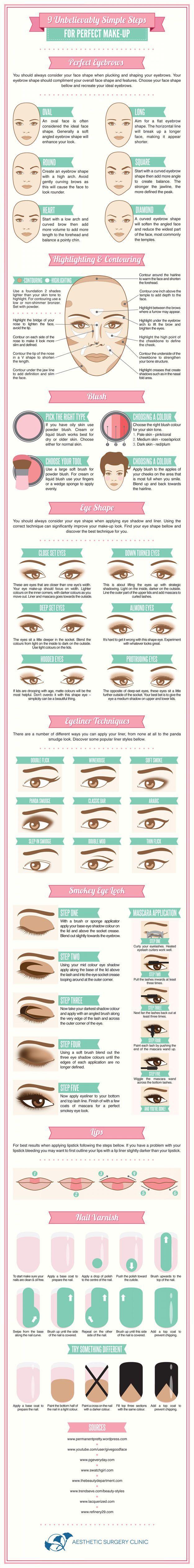 Everyday Makeup Tips for All Skin Types by Makeup Tutorials at makeuptutorials.c...