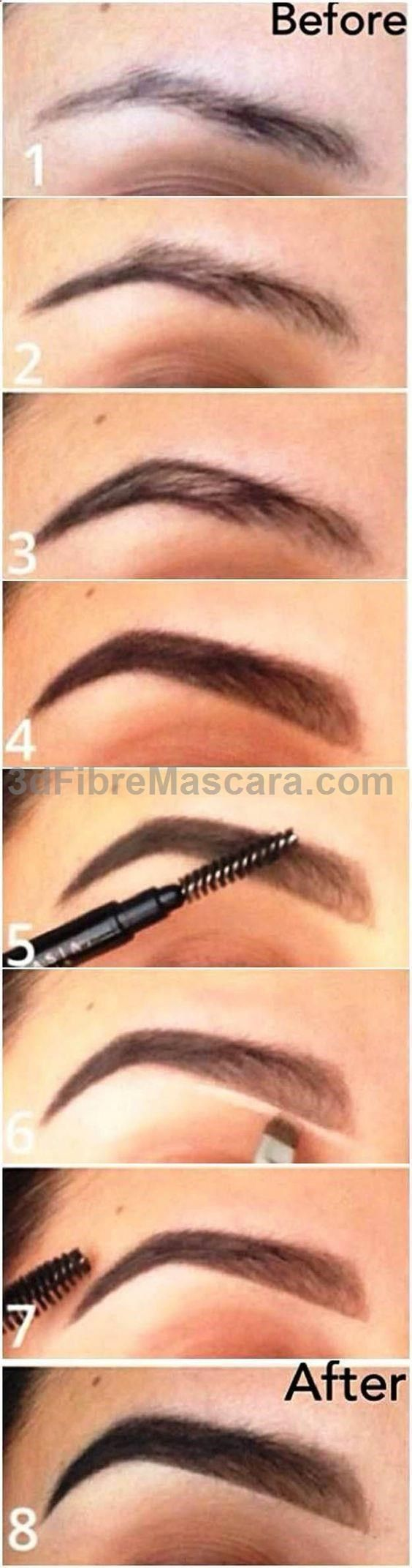 Eyebrow Makeup Tutorials for Beginners by Makeup Tutorials at makeuptutorials.c....
