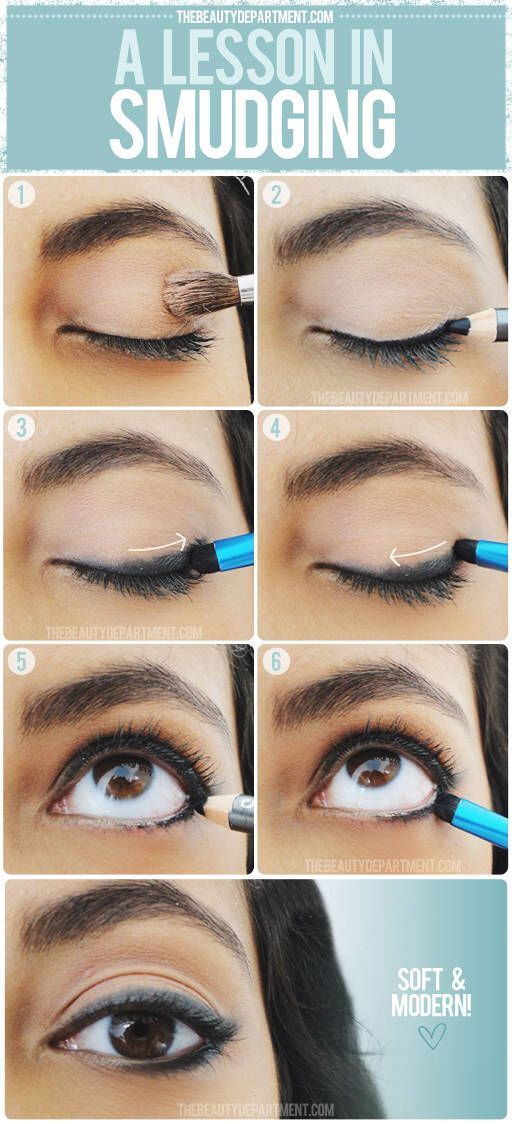 Eyeliner Tips: A Lesson in Smudging | Soften Up Your Eyeliner with this Nifty Ti...