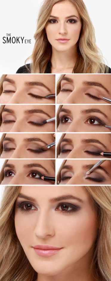 Fall Classic Smokey Eye Makeup Tutorial
