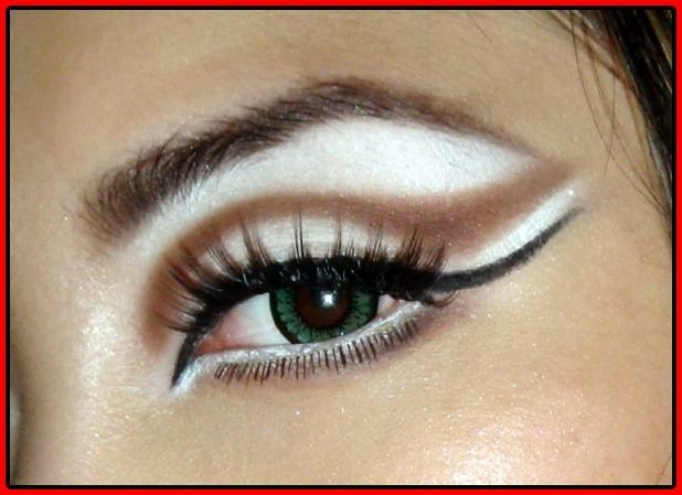 Flirten Cat Eye Makeup Tutorials  #flirten #makeup #tutorials