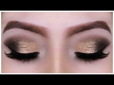 Golden Brown Smokey Eye | UD Naked Palette + MAC Dupes! - YouTube