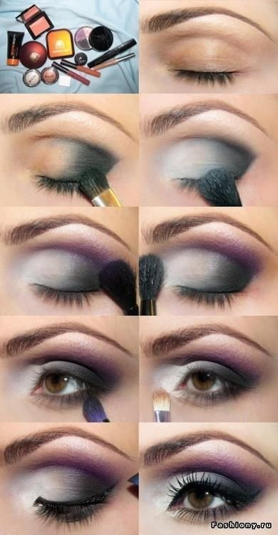 Grey Smokey Eye Makeup | This is just gorgeous! | Makeup Tips and Tutorials from...