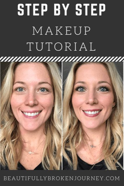 Here is my step by step makeup tutorial... and it's easy enough for beginner...