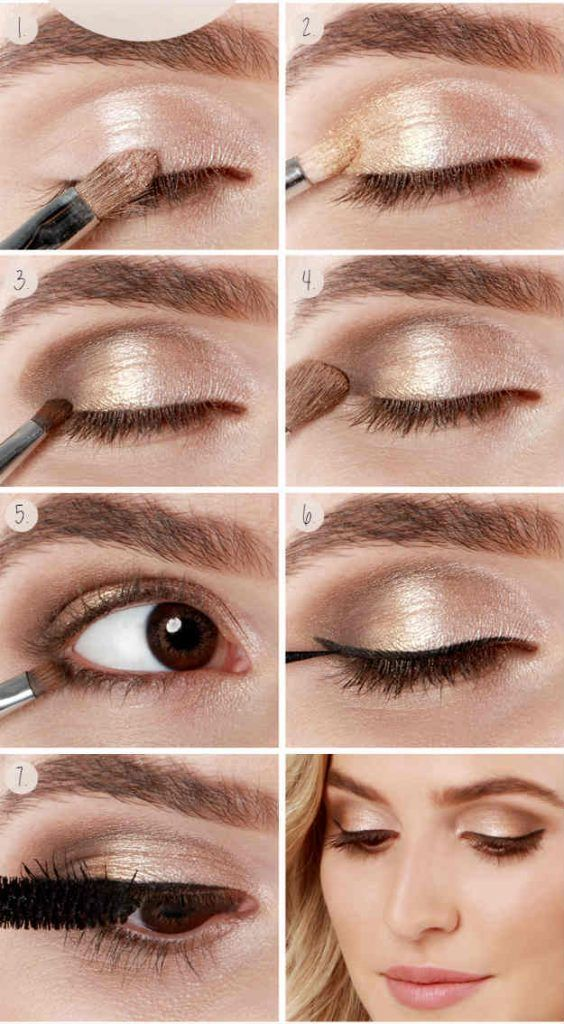 Holiday Shimmer Eyes | Eyeshadow For Brown Eyes | Makeup Tutorials Guide