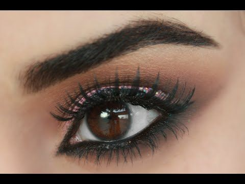 How To Smokey Eye Makeup Tutorial For Beginners Easy Step by Step - YouTube