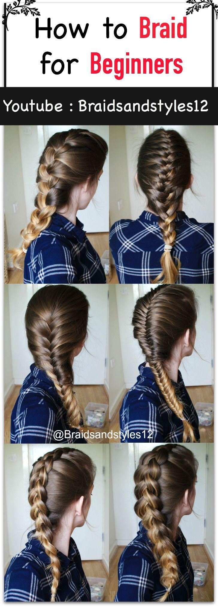 How to Braid your Own Hair for Beginners by Braidsandstyles12. Click the  below ...
