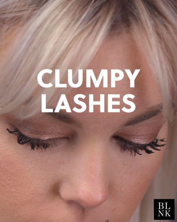 How to Create Clumpy Lashes #blinkbeauty #beautytutorial #makeuptutorail #clumpy...