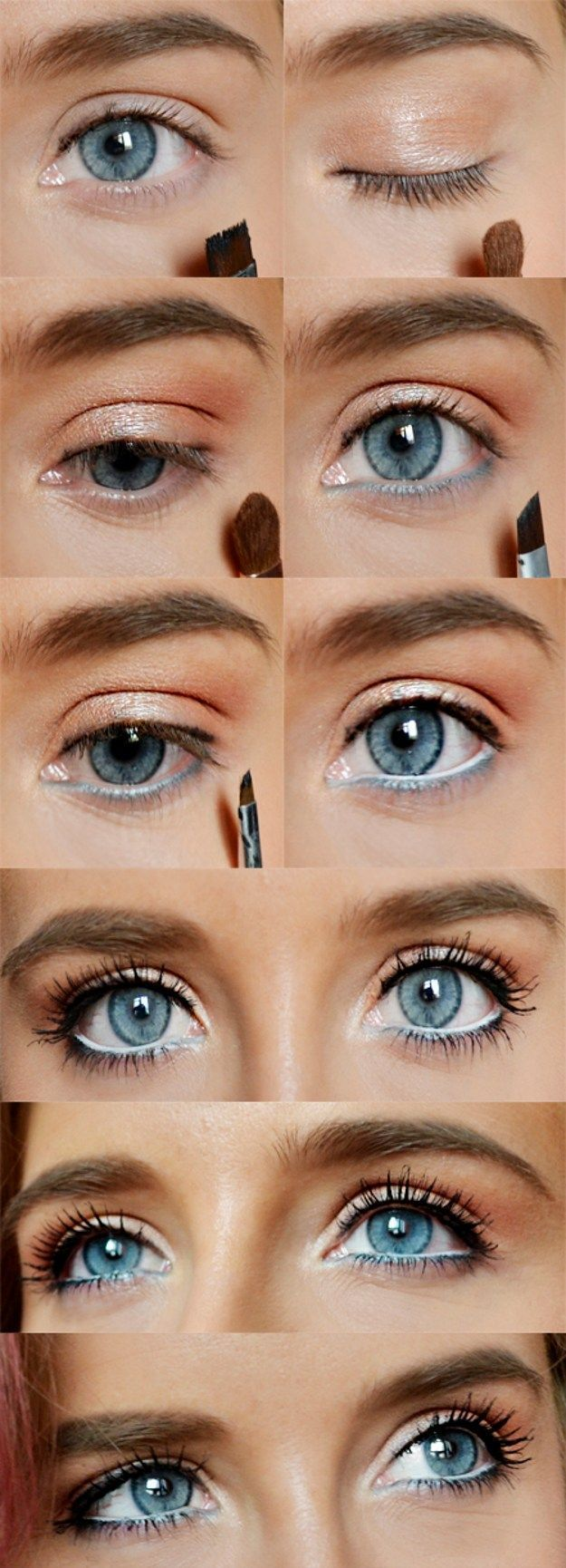 How to Do Natural Spring Makeup | Easy DIY Look by Makeup Tutorials at www.makeu...