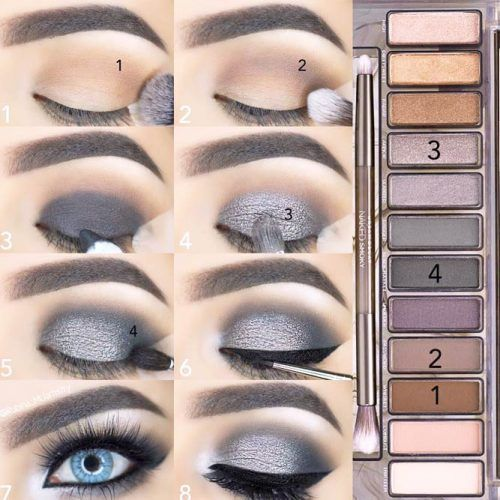 How to do a Smokey Eye for Blue Eyes picture 5
