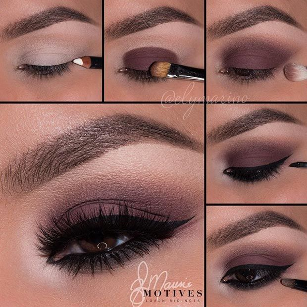 Matte, Dark Brown Eye Makeup Look Pictorial/Tutorial #coupon code nicesup123 get...