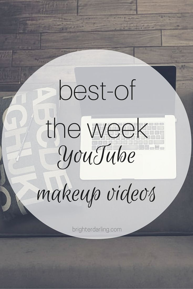 My top three favorite YouTube makeup videos of the week for March 11. Features a...