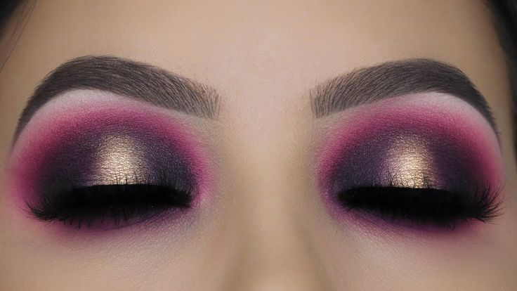 Pink Golden Smokey Eye Makeup Tutorial - YouTube
