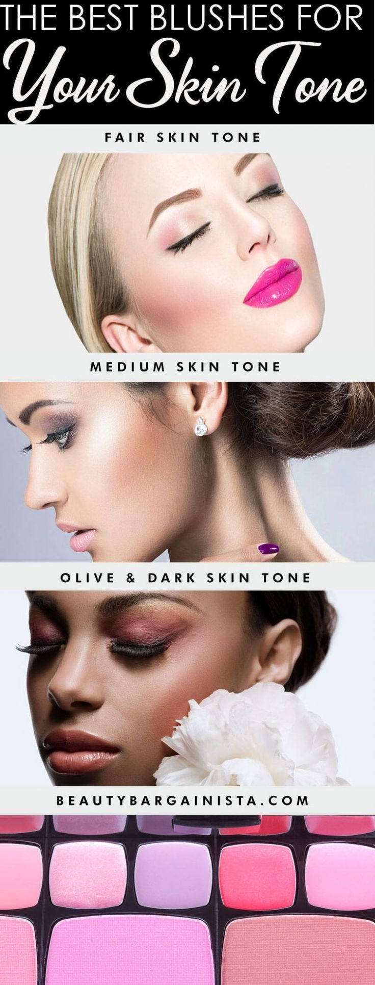 Scared to wear the wrong shade of blush? And become a fashion don't? Don&#39...