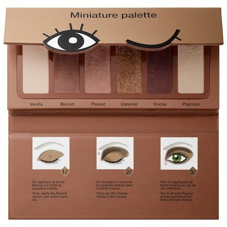 Sephora Collection Miniature Palette Cookie Shades Collection 6 x 0.03 oz/ 1 g