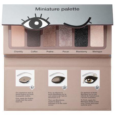 Sephora Collection Miniature Palette Nougat Shades Collection 6 x 0.03 oz/ 1 g
