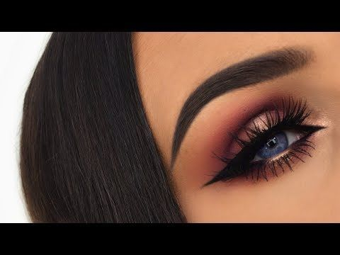 Smokey Gold & Purple Halo Eye | Desert Dusk Palette Makeup Tutorial - YouTube