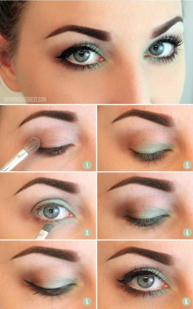 Soft and Subtle Everyday Look | Green Eyes Makeup by Makeup Tutorials at makeupt...