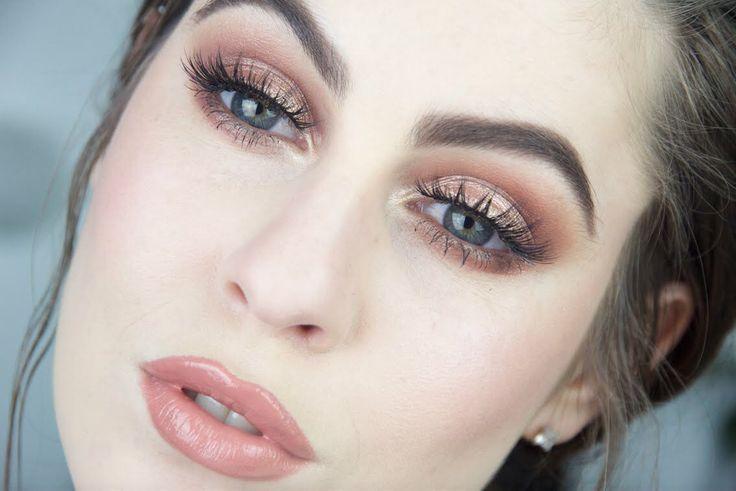 Spring make up idea for summer 2016! Fair skin, blue eyes, brunette ♥