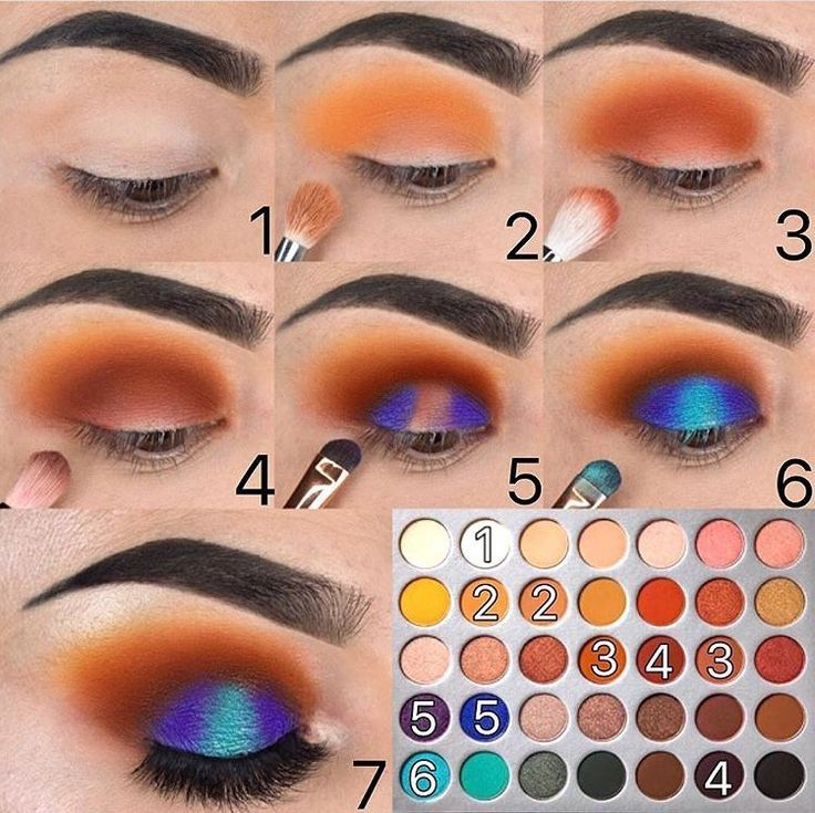 Step By Step Tutorial with  The Jaclyn Hill Eyeshadow Palette   Instagram:Jozlyn...