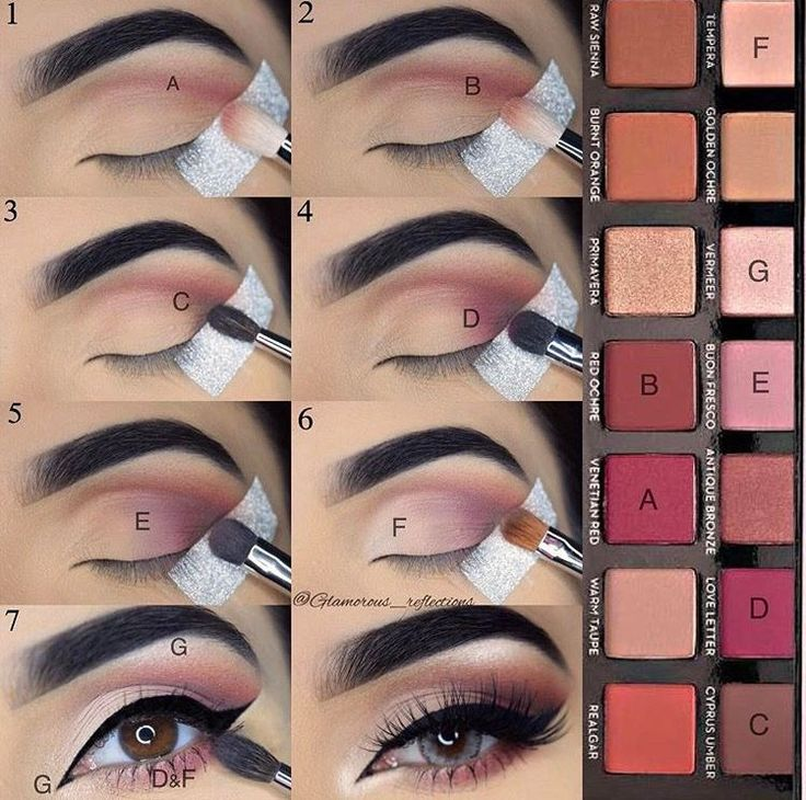 Step by step pictorial makeup look using modern renaissance by @glamorous_reflec...