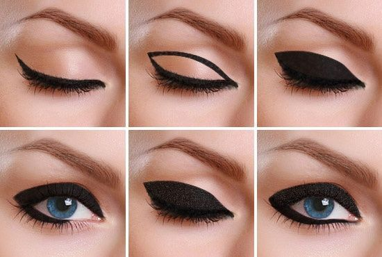 Steps for Applying Bold and Thick Eyeliner