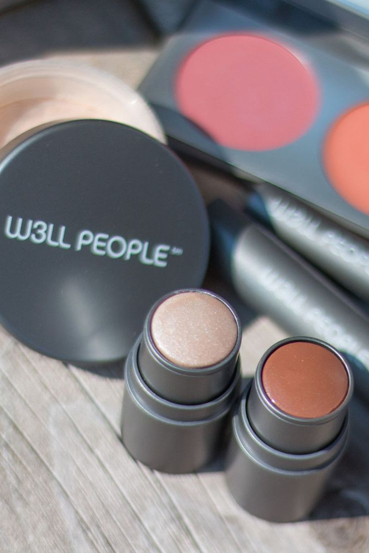 These W3ll People products perform just like conventional cosmetics.