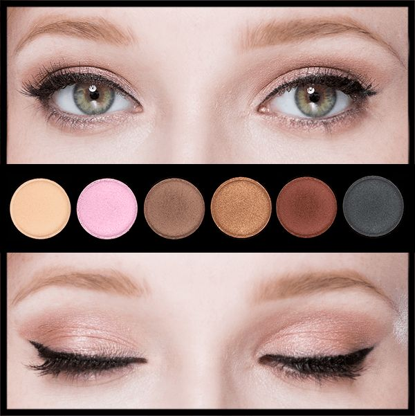 This is the right makeup palette for your eye color.