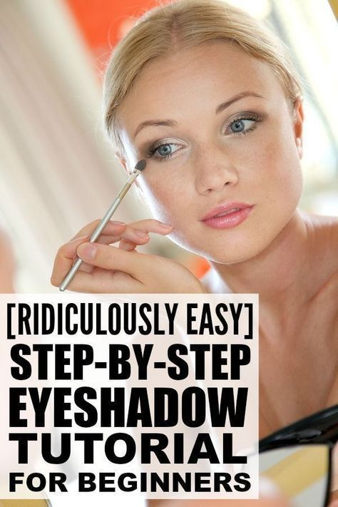 This step by step eyeshadow tutorial is perfect for beginners who want to learn ...