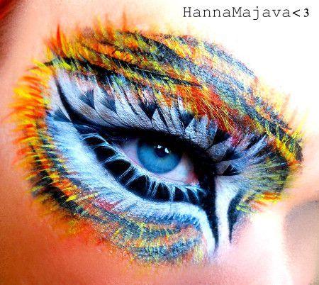 Tiger Eyes Makeup Tutorial - By Hanna Majava via Glam Express