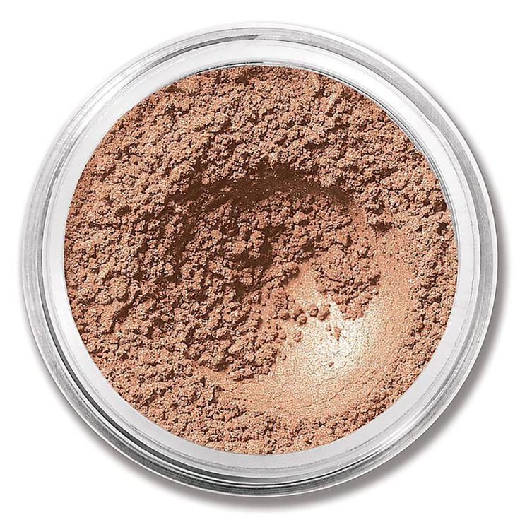 Try bareMinerals Eyeshadow In Pebble-great for blue eyes