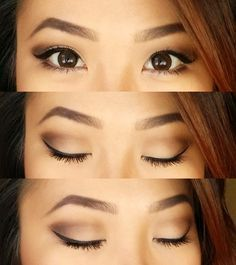 Tutorial: neutral eyes look for hooded eyes, monolids, or those with little lid ...