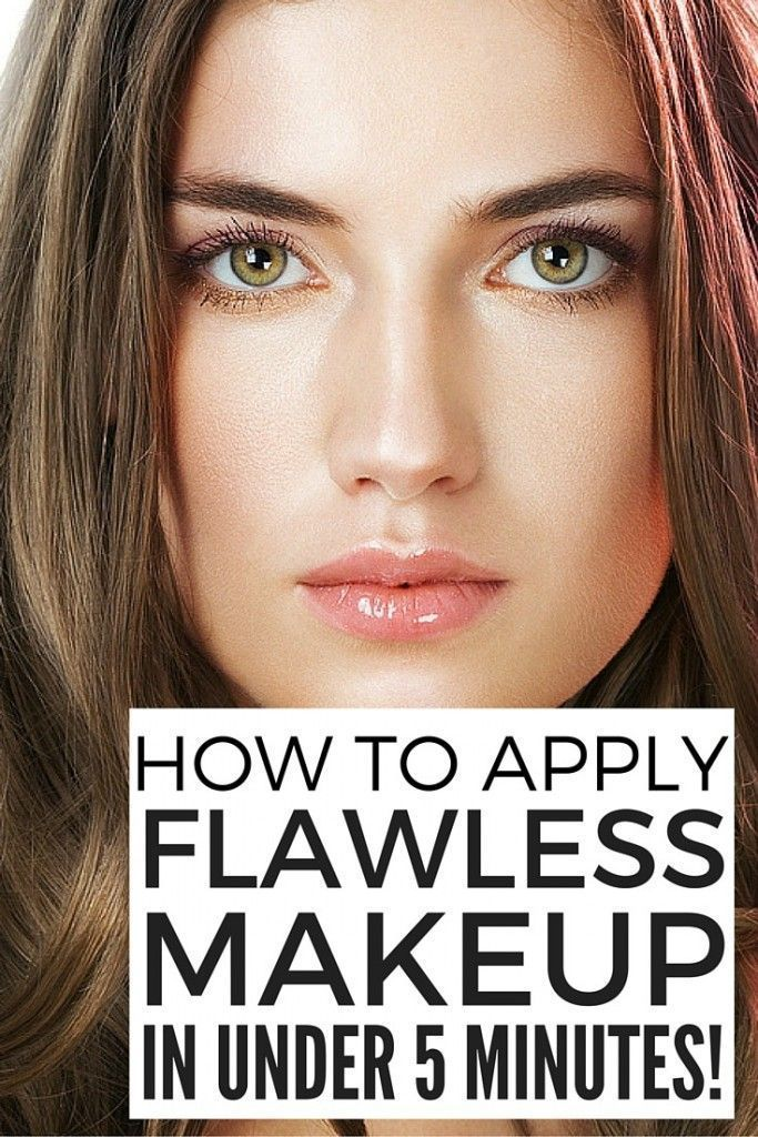 Want to learn how to get flawless makeup in 5 minutes or less? We've got you...