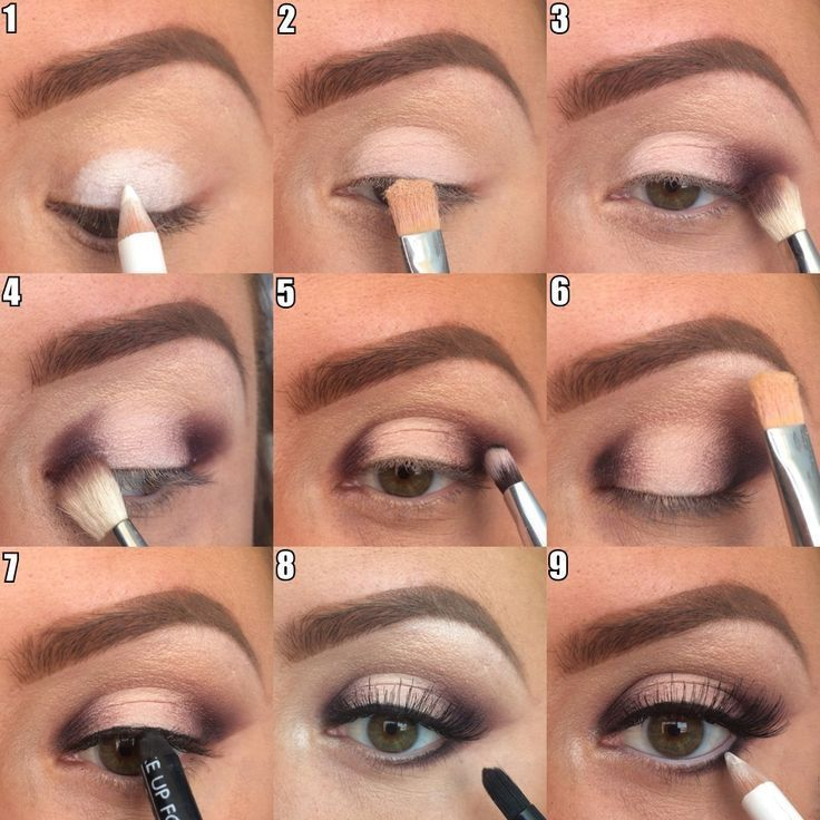 Wow! I am going to give this a go.  Looks so effective!! Step-by-step eye makeup...