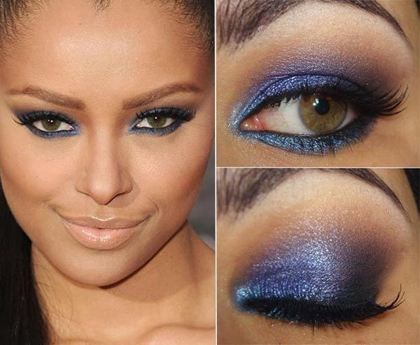 blue eye makeup
