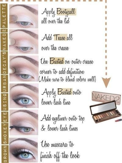 brown smokey eye with urban decay naked 2 palette.  Gorgeous! I love bronze and ...
