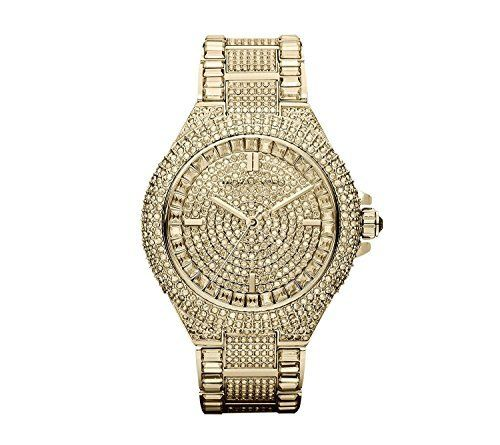 Michael Kors Goldtone Camille Watch -- Read more at the image link. (This is an ...