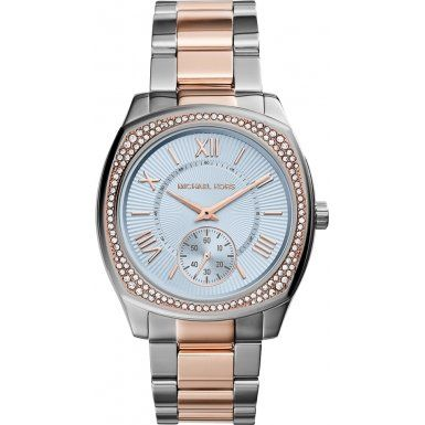 Michael Kors MK6136 Ladies Bryn Two Tone Steel Bracelet Watch * Read more review...