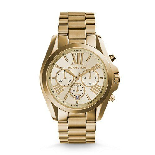 Michael Kors Women's Bradshaw Gold-Tone Watch MK5605 * Check this awesome produc...