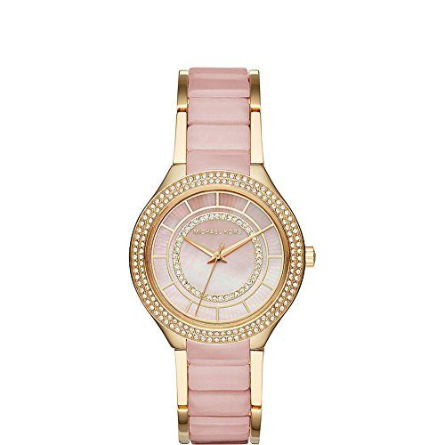 Michael Kors Women's Kerry Gold-Tone Watch MK3508 ** Click image to review m...
