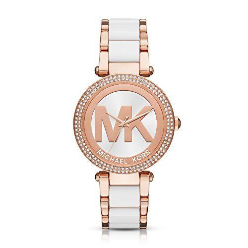 Michael Kors Women's Parker Rose Gold-Tone Watch MK6365 ** Check out this gr...