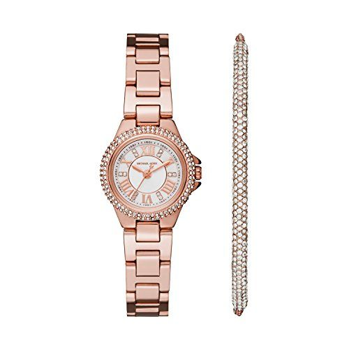 Michael Kors Women's Petite Camille Rose Gold-Tone Watch MK3654 * Find out m...