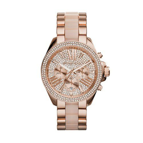 Michael Kors Women's Wren Two-Tone Watch MK6096 * Find out more about the great ...