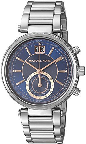 Michael Kors Womens Catlin TwoTone Watch MK6224 * Click image for more details. ...