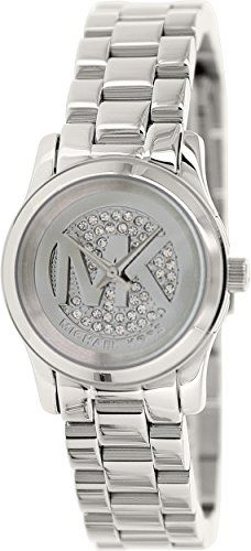 Michael Kors Womens MK3303 Silver One Size *** Check out the image by visiting t...