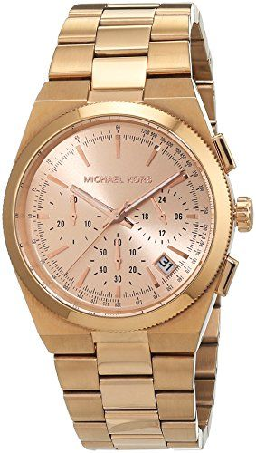 Michael Kors Womens MK5927  Channing Rosegold Watch ** You can find out more det...